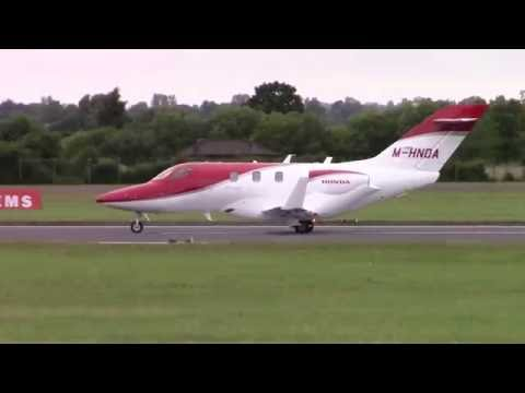 RIAT 2016-Honda Jet-Arrival