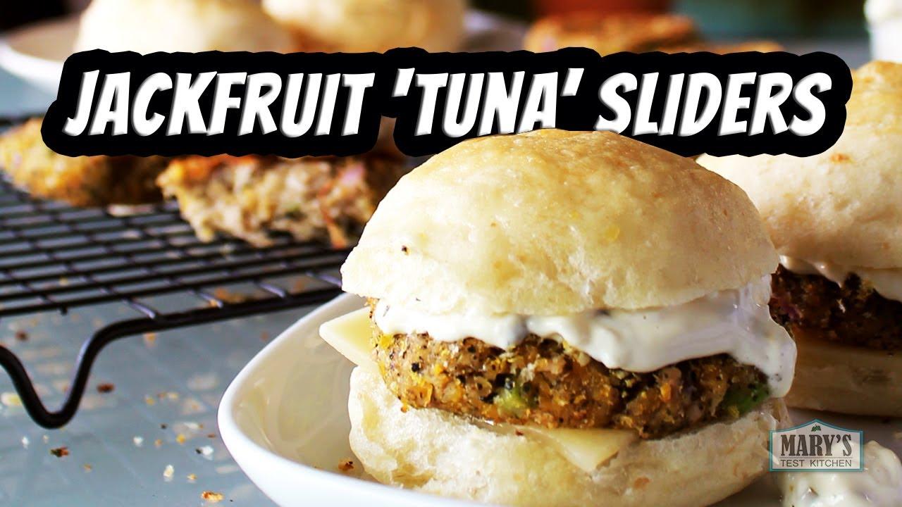 JACKFRUIT 'TUNA' SLIDERS | Vegan Recipe by Mary's Test Kitchen