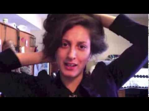 Quick N Dirty Gibson Girl Hair Youtube
