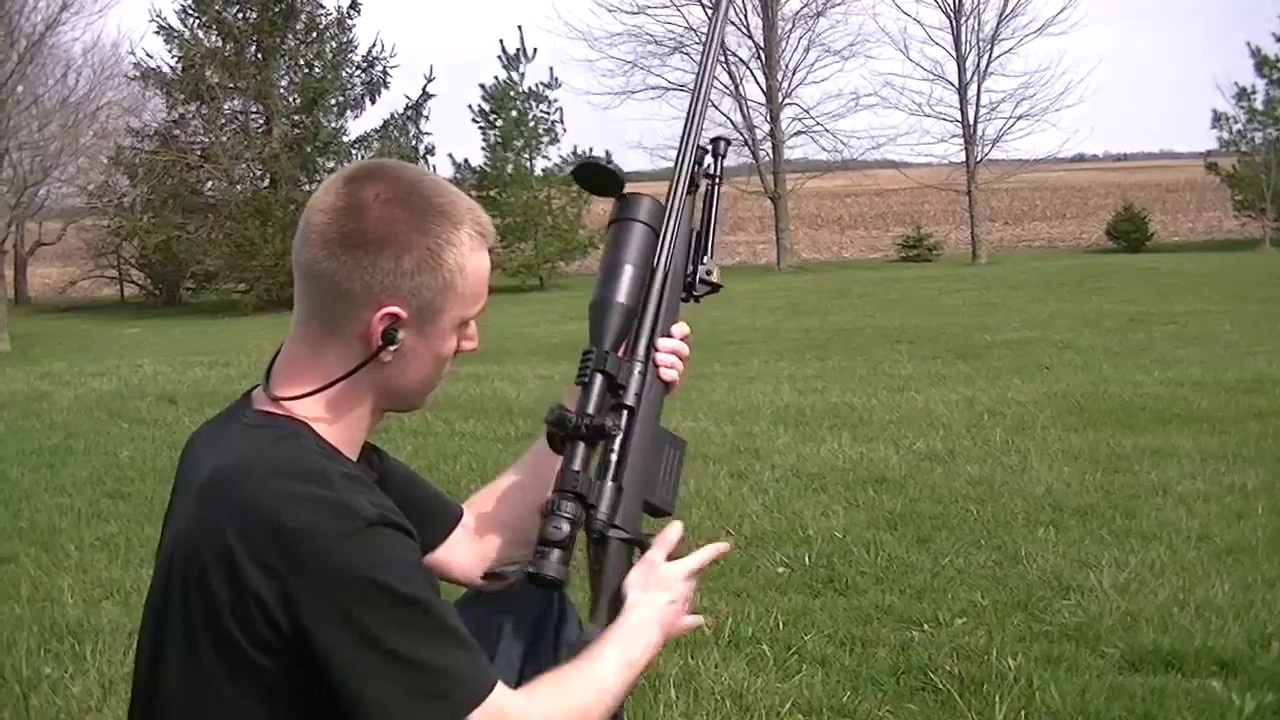Savage 110 Extended Mag and Muzzle Brake Testing