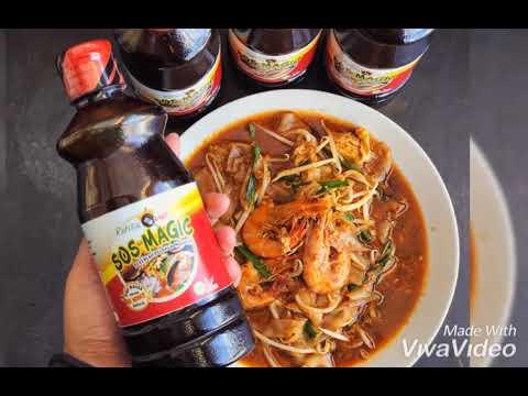 Cara masak Char Kuey Teow Paling Pantas dan Sedap!