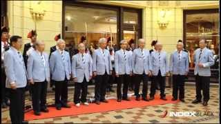 """Japanski zbor na hrvatskom pjeva """"U boj, u boj"""""""