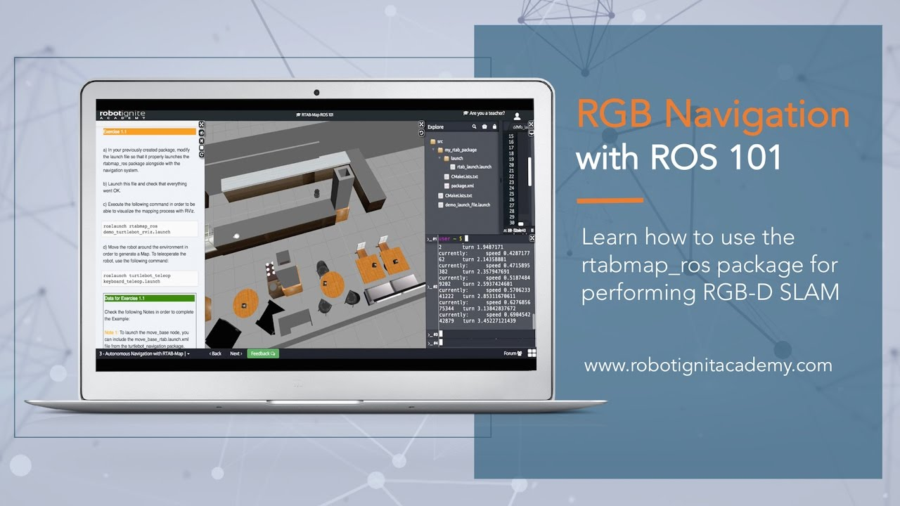 [ROS tutorial] RTAB-Map in ROS 101