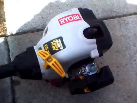 Ryobi CS30 Curved Shaft String Trimmer RY30021A - YouTube