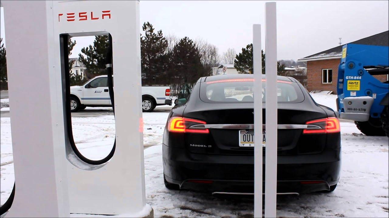 Tesla supercharger pa