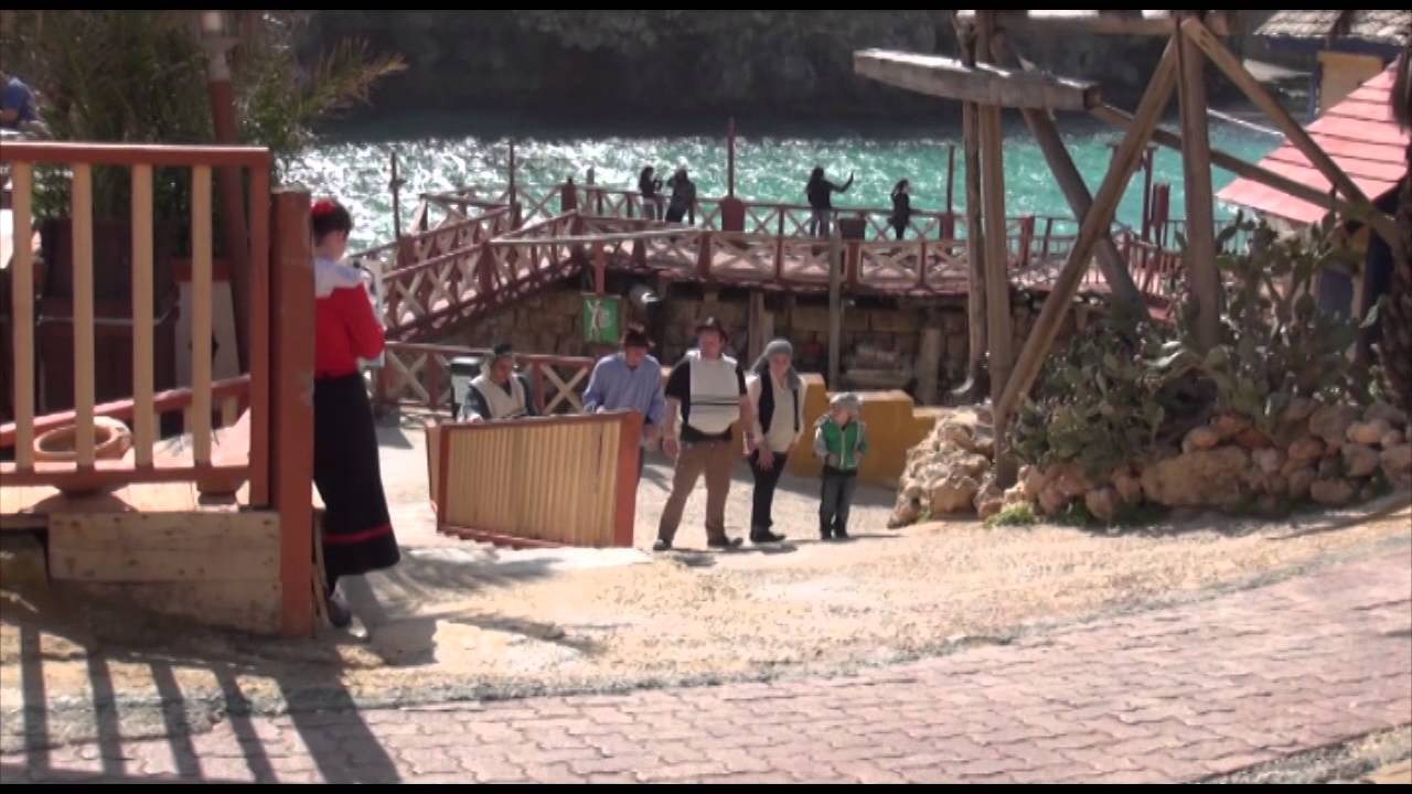 Making of a film in Popeye Village, Malta