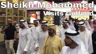 Sheikh Mohammed visits Gulfood 2018 - Dubai's largest exhibition