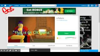 The most engraced game of the ROBLOX