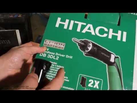 Hitachi 3.6V cordless driver drill review