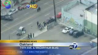 Real G 4 Oakland Police officers shot Suspect Lovelle Mixon killed Breaking News 3 22 09