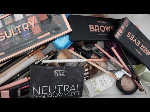 Decluttering My EveryDay Makeup Drawer... - 동영상