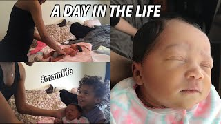 A Day in The Life with a Newborn (and Toddler)
