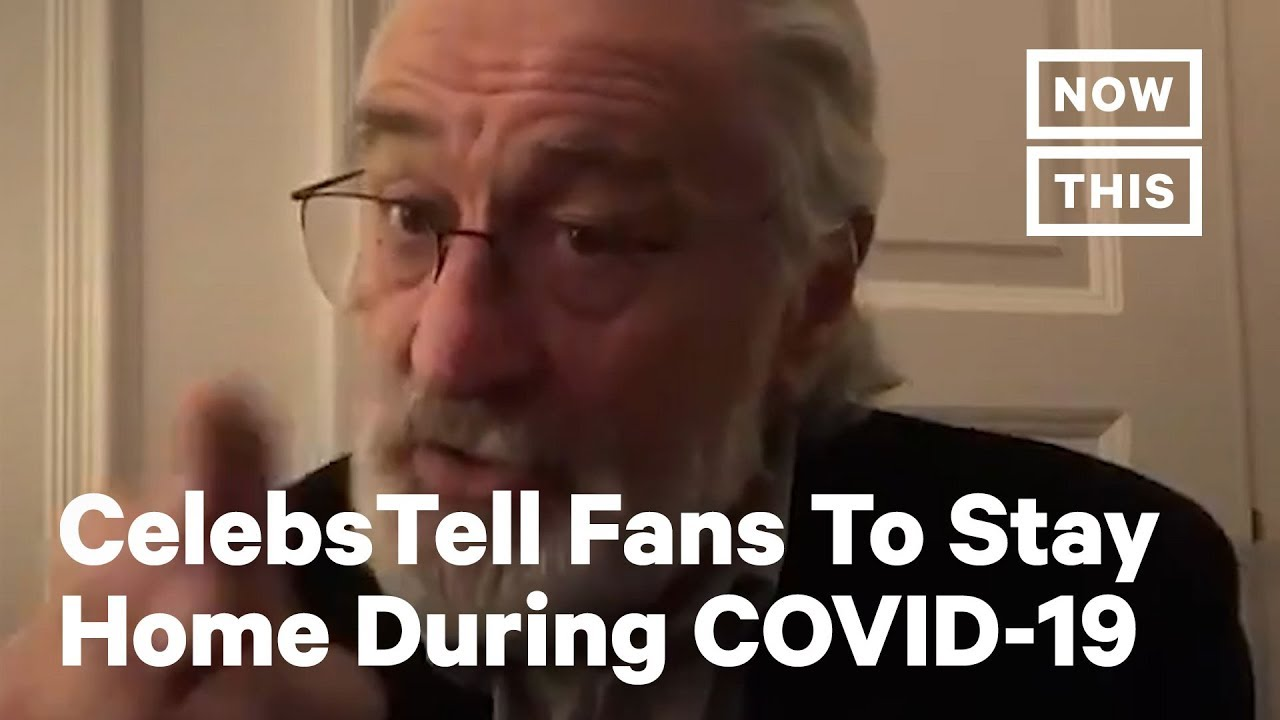 Celebrities Tell People To Stay Home During COVID-19 | NowThis