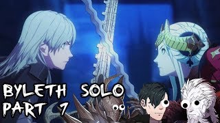 Fire Emblem: Three Houses - Byleth Solo Part 7 (Maddening / New Game / Church Route)