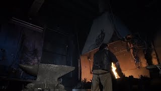 Blacksmith Forges a Red-hot Metal | Stock Footage - Videohive
