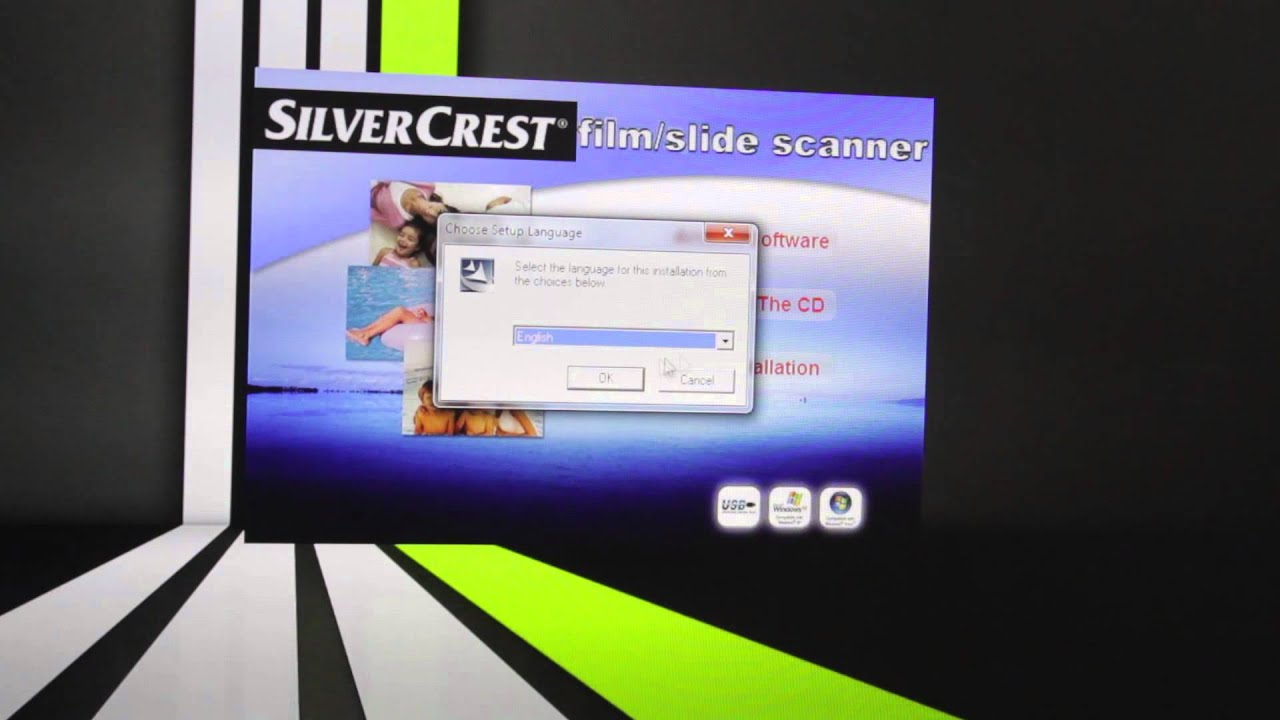 Lidl Silvercrest Negativ Digitalisierer Photo Slide Scanner