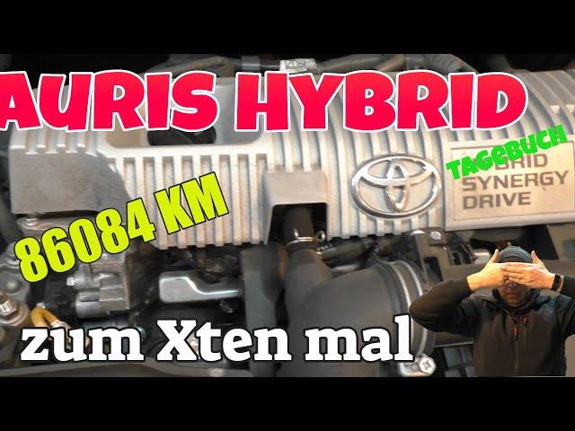 86084 KM - Auris Hybrid Tagebuch