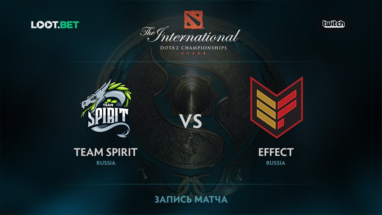 Team Spirit vs Effect, The International 2017 CIS Qualifier