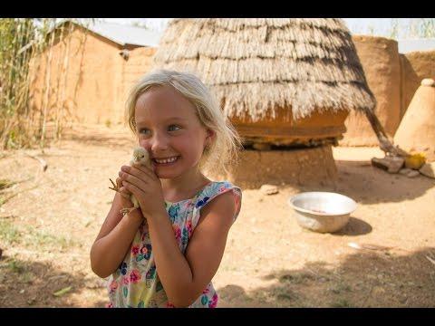 Fun in Benin with Kids