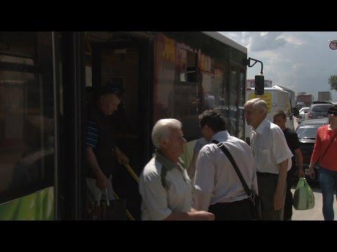 Жители Волгограда - о работе новых автобусов на самом протяженном маршруте №77