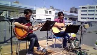 2010年5月2日 元宇品のフリーマーケット会場でのライブの模様です。 Z...