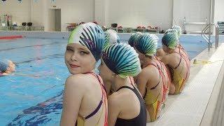 Синхронное плавание   Тренировка   Спортивная школа 3 СПБ