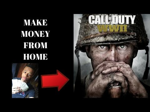 how-to-make-money-while-playing-call-of-duty-ww2