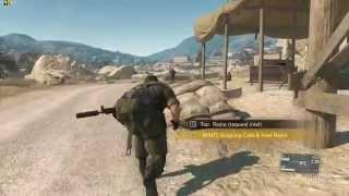 Metal Gear Solid V: The Phantom Pain Max Settings Gameplay Alienware 18 4930MX 880M