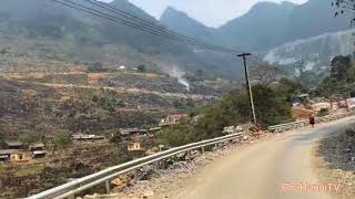 Hành trình từ TP Hà Giang qua huyện Quản Bạ , Huyện Yên Minh và đến Thị trấn Đồng Văn.