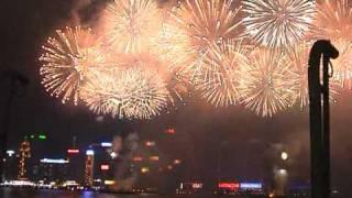 Hong Kong Chinese New Year Fireworks 2009