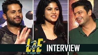 Lie movie team interview | chit chat | nithiin | megha akash | tfpc