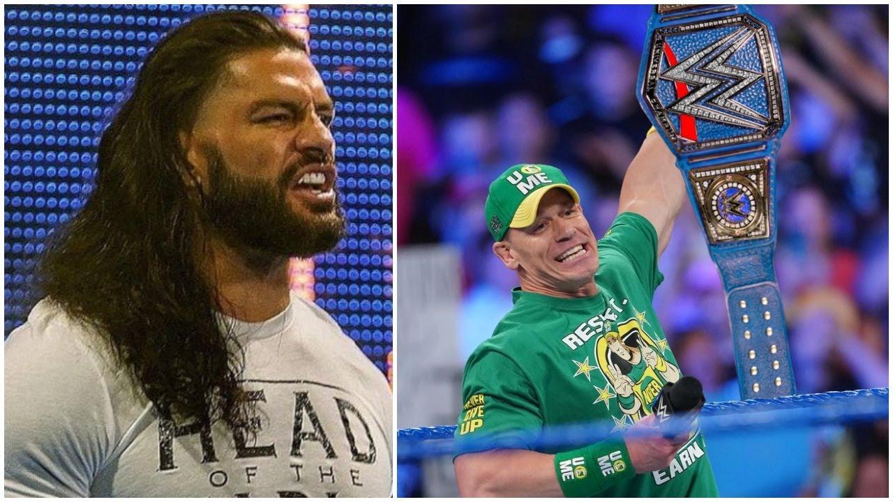 John Cena DEFEATS Roman Reigns 2021 - Roman Reigns Lost To John Cena 2021  