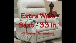 Med-lift 3653 Bariatric Reclining Lift Chair