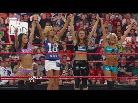 Maria Menounos, Gail Kim and Kelly Kelly vs. Beth Phoenix,