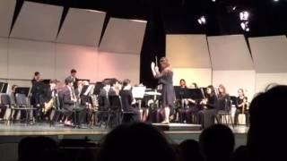 Robbie's Spring Band Concert - Puszta Movement 4 Jan Van Der Roost