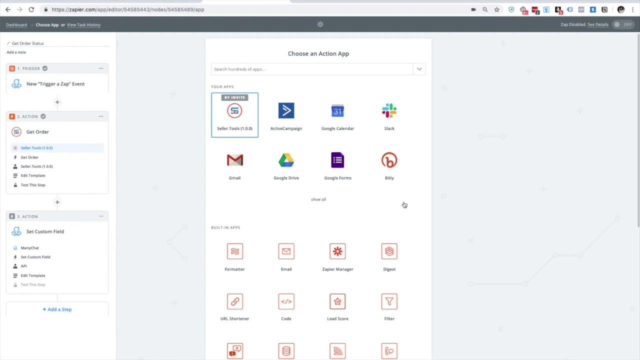 Zapier | Seller Tools