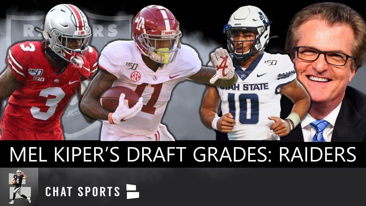 2020 NFL Draft Grades  Las Vegas Raiders