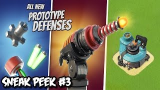 Boom Beach Update - Prototype Defense Weapons & Weapon Lab! - Sneak Peek #3