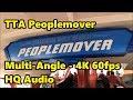 TTA Peoplemover | Multi-Angle Ride-Through | 4K 60fps HQ Audio | Magic Kingdom | Walt Disney World