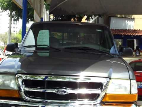Camioneta 1998 Ford Ranger Xlt Cabina Y Media 4x2 Youtube