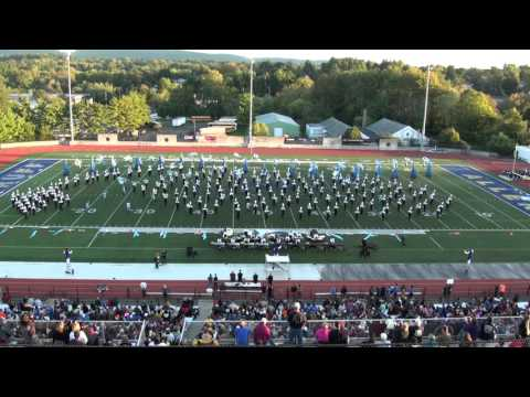 WCU Marching Band at CMBF in Allentown 2015