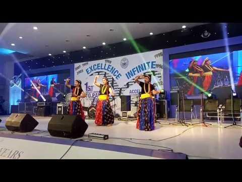 Nepali dance  Silver jubilee celebrations @nsu