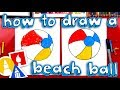 How To Draw A Beach Ball With Templates