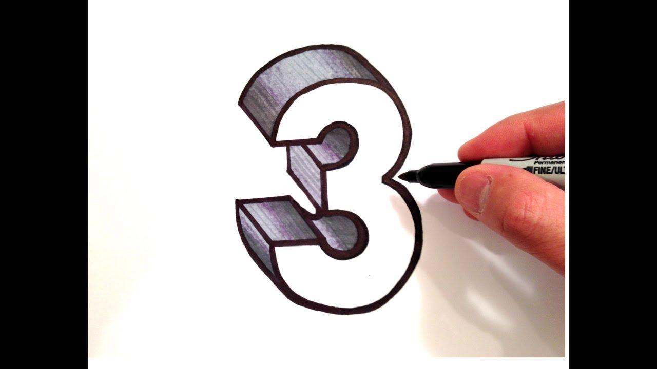 number 3 # 21