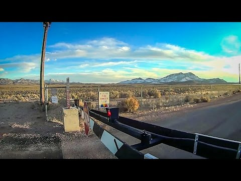 AREA 51 - SPY CAMERAS ON US - SNIPERS ARE OUT THERE!!!!! FULL TRIP