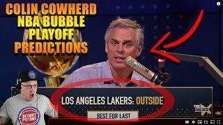 Reacting To Colin Cowherd NḂA Buḃḃle Champİonshİp Prediction