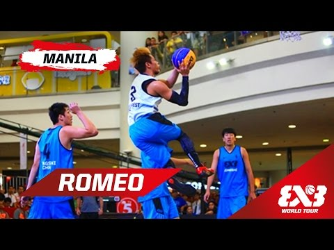 Terrence Romeo (Manila West) - Mixtape - Manila - 2015 FIBA 3x3 World Tour