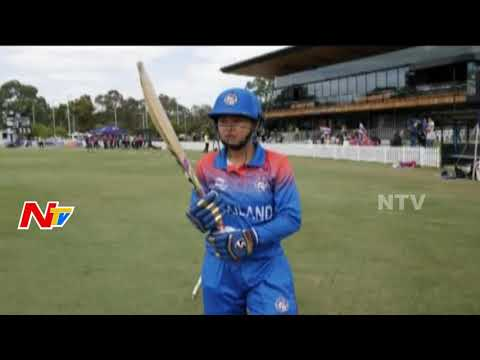 Thailand players win hearts at Women's T20 World Cup debut   NTV Sports