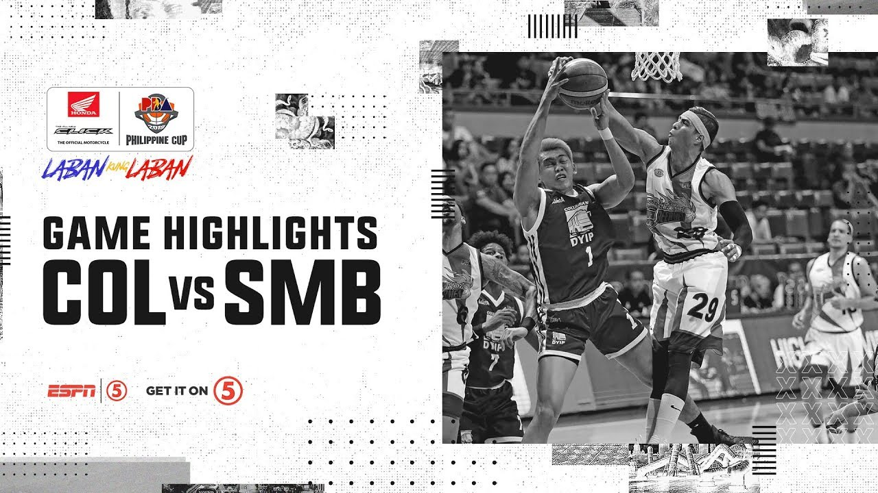 Highlights: Columbian Dyip vs. San Miguel | PBA Philippine Cup 2019