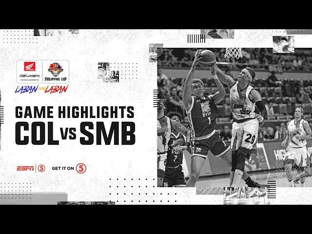 Highlights: Columbian Dyip vs. San Miguel | PBA Philippine Cup 2019